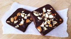 Homemade Chocolate Bars A sticky treat the kids will love!