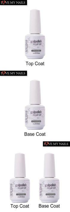 [Visit to Buy] Hot Sale 15ml Arte Clavo No Wipe Top coat Primer Base Coat Nail Gel Soak Off Nail Polish Lacquer UV Builder Gel Set #Advertisement