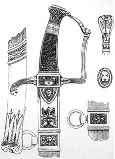 Sabre of general officer vendémiaire AN XII