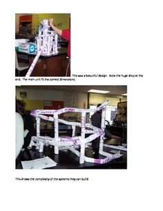marble roller coaster ideas this paper roller coaster has 4 tracks and each starts when the. Black Bedroom Furniture Sets. Home Design Ideas