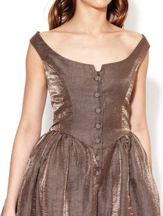 Anglomania Fit and Flare Pannier Dress by Vivienne Westwood at Gilt