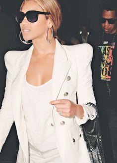 Chanel earrings.
