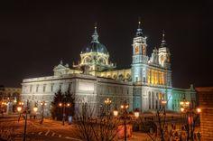 La Almudena Cathedral, Madrid (Spain)