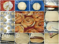 Buns, Food To Make, Breads, Good Food, Rolls, Recipes, Rice Dishes, Meat, Easy Meals