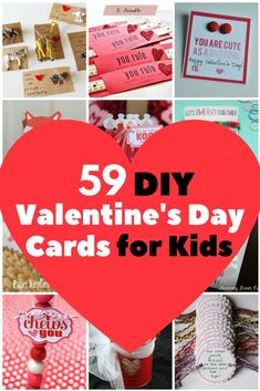 Who said Valentine's Day is for adults only? Your kids can also celebrate this sweet holiday. These crafty and adorable DIY Valentine's Card from Pop Sugar are perfect for  little artists. These cards don't need chocolates, flowers and I-Love-You balloons to stand out, they are great as they are.