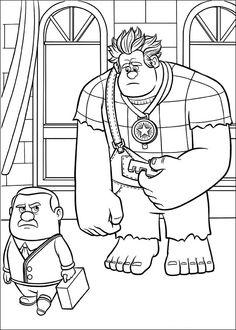 Dibujos para Colorear Rompe Ralph 52                                                                                                                                                                                 Más