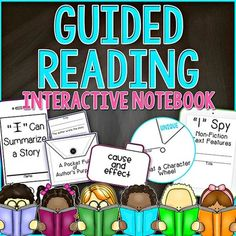 These Guided Reading Flip Flaps for Interactive Notebooks are PERFECT for use during your Guided Reading Groups and be added to your Interactive Notebooks OR can be made into a Guided Reading Lapbook! This Guided Reading Interactive Notebook resource has every Common Core State Standard that you have to teach for