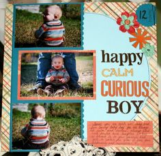 Happy Calm Curious Boy - Two Peas in a Bucket