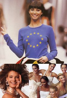 Their happy, healthy smiles. | 51 Reasons Why Supermodels Were Better In The '90s