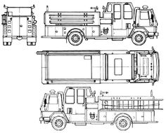 Mining truck blueprint google search dump truck research 1990 ford cargo cf6000 fire truck blueprint malvernweather Image collections
