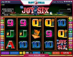 The Joy of Six free #slot_machine #game presented by www.Slotozilla.com - World's biggest source of #free_slots where you can play slots for fun, free of charge, instantly online (no download or registration required) . So, spin some reels at Slotozilla! The Joy of Six slots direct link: http://www.slotozilla.com/free-slots/joy