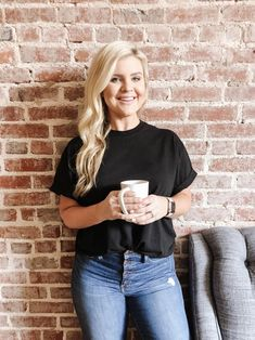 Fashion Look Featuring Madewell Skinny Denim and Topshop Tees by cristincooper - ShopStyle Autumn Fashion Casual, Casual Fall, Size 16 Fashion, Skinny Fit, Skinny Jeans, Bathing Suit Dress, Latest Trends, Topshop, Fashion Looks