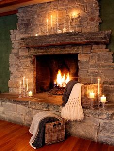 Beautiful rustic cabin fireplace - perfect for vacation setting! Beautiful rustic cabin fireplace - perfect for vacation setting!