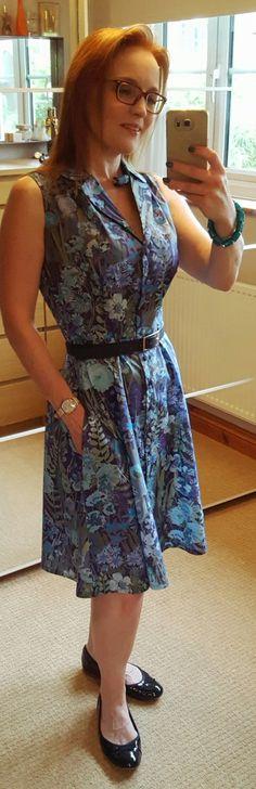 SOIshowoff July 2016: Sew Over It Vintage Shirt Dress
