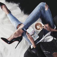 "275 Likes, 3 Comments - HANDMADE ITALIAN LUXURY SHOES (@montorro_women) on Instagram: ""Classy black heels @fashionedchicstyling"""