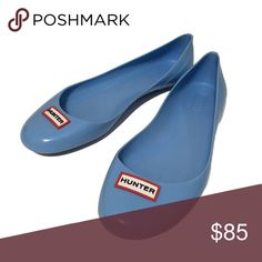 Spotted while shopping on Poshmark: ☔️ Hunter Romilly Waterproof Flats in Sky Blue! #poshmark #fashion #shopping #style #Hunter Boots #Shoes