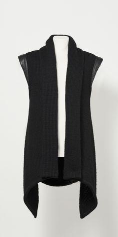 #lesDArcs #warrior #cardigan #ava #autumn #winter #collection #unisex #heavy #knit #fauxfur #fashion #berlin