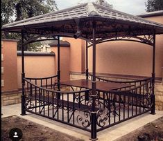Pergolas For Sale At Lowes Tenda Gazebo, Porch Grill, Wrought Iron Garden Furniture, Porch Shades, Home Design Images, Shade Screen, Rocking Chair Porch, Outdoor Living Rooms, Halloween Porch Decorations