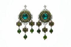 Envy Me Jade Earrings