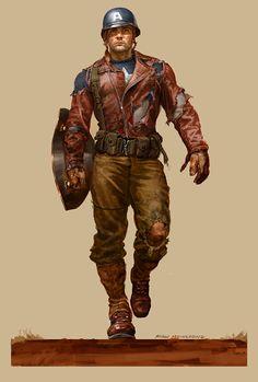 Captain America •Ryan Meinerding