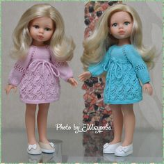 Новости Crochet Doll Dress, Knitted Romper, Crochet Doll Clothes, Crochet Baby Hats, Knitted Dolls, Girl Doll Clothes, Girl Dolls, Baby Knitting, Cardigan Outfit Summer