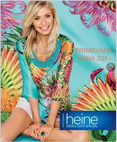 Heine catalog oferte de Primavara - Vara 2014  #heine #moda #trends #fashion #fashion2014 #catalog #haine #imbracaminte #accesorii