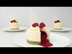 (2) RASPBERRY INSIDE DESSERT How To Cook That Ann Reardon - YouTube