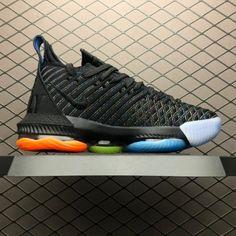 cheaper c2420 90f73 2019 Nike LeBron 16 I Promise Black Multi-Color AO2595-004 For Sale-