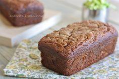 A recipe for grain free, gluten free, paleo zucchini bread using almond flour.
