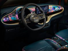 Bulgari and Fiat have released the new by Bulgari Mai Troppo – the first-ever electric model of the Fiat New 500 series presented as a convertible. Leather Skin, Calf Leather, Giorgio Armani, Fiat 500e, All Electric Cars, Honda, Wall Boxes, Audi A5, Led Headlights