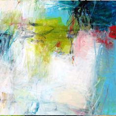 abstract artist Charlotte Faust via The Pink Pagoda