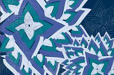 Patterns A/W : High Tec derams by Suz Sanchez, via Behance Pattern Design, Flag, Behance, Country, Projects, Diy, Patterns, Ideas, Studio Apartment Design