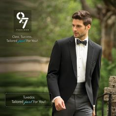 ‪#‎Tuxedo‬ Tailored Just For You! Men's Customized Clothes. ‪#‎Formalwear‬, ‪#‎Ethnic‬ ‪#‎Wedding‬ ‪#‎Suits‬ ‪#‎Menswear‬ ‪#‎Mumbai‬ ‪#‎Chembur‬ visit : http://www.9to7fashions.com/ call : 8080 927 927