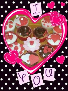 valentines cupcakes My early work lol