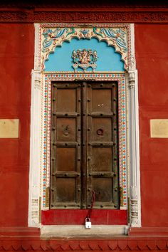 Varanasi, Uttar Pradesh, India   For the beautify of the door, and for the great place Varanasi is.  The sacred city of India.