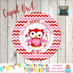 This listing is for favour tags/stickers in the CUPID OWL theme. This is a digital file that you print yourself and will be sent to you in PDF format. Favor Tags, Cupid, Diy Party, Party Invitations, Favors, Owl, Kids Rugs, Etsy Shop, Prints