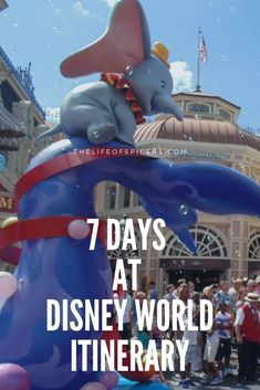 7 Day Disney World Itinerary - The Life Of Spicers Dining Plan Disney World, Disney World Vacation Planning, Disney Cruise Tips, Disney World Florida, Walt Disney World Vacations, Disney Planning, Disney World Resorts, Disney Trips, Disney Dining