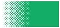 Illustrator CC(2015) でドットグラデーションを作る方法をメモ!【完成図】①カラーモードはCMYK。②ドットグラデーションにしたい色のオブジェクトを作成。③同じ大きさのオブジェクトを作成して、白黒のグラデーションにする。グラデーションの設定はこんな感じ。グラデ