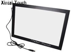 """Driver Free! Xintai Touch 4 points 40"""" infrared multi touch screen overlay kit / multi touch screen frame for lcd monitor etc #Affiliate"""