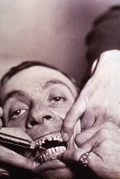Men were Dental Assistant back in the day! That's neat!