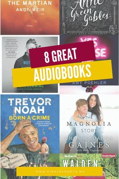 Great audiobooks to listen to today!