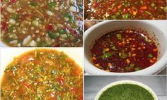 """แจกสูตร """"21 น้ำจิ้มยอดฮิต"""" สารพัดความอร่อย เด็ดสุดๆ จนต้องบอกต่อ!!   NaiBann.com Thai Recipes, Clean Recipes, Sauce Recipes, Cooking Recipes, Cooking Time, Thai Food Menu, Thai Appetizer, Sweet And Sour Recipes, Authentic Thai Food"""