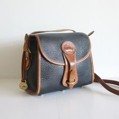 dooney and bourke vintage | vintage classic Dooney and Bourke pebbled leather small handbag purse