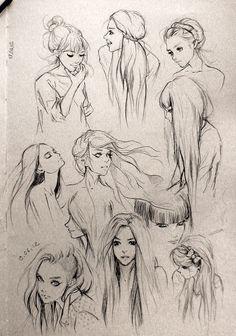 "Fantasy ""Girl"" Hair"