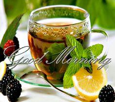Good tea in the morning