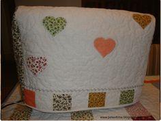 Capa para a máquina de costura www.pelavitrine.blogspot.com