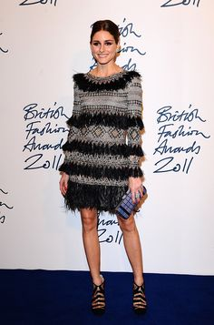 The Olivia Palermo Lookbook : Olivia Palermo at the British Fashion Awards 2011