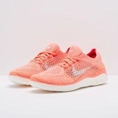 separation shoes 43ff4 6a3f3 Nike Womens Free Run Flyknit 2018 - Crimson Pulse Sail-Hyper Crimson