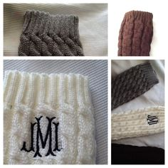 Hey, I found this really awesome Etsy listing at https://www.etsy.com/listing/182012269/monogramed-leg-warmers-boot-socks