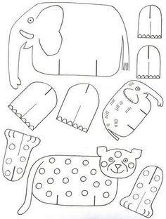 Schauen Sie mal, wie einfach kann man Tiere aus Papier mit Kindern basteln. Die Vorlagen Sie hier. Probieren Sie selber, es geht ganz schnell!